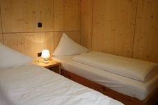 Mobilheim Modell Carinthia Schlafzimmer