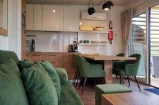 4**** Luxus Mobilheime Wohnbereich